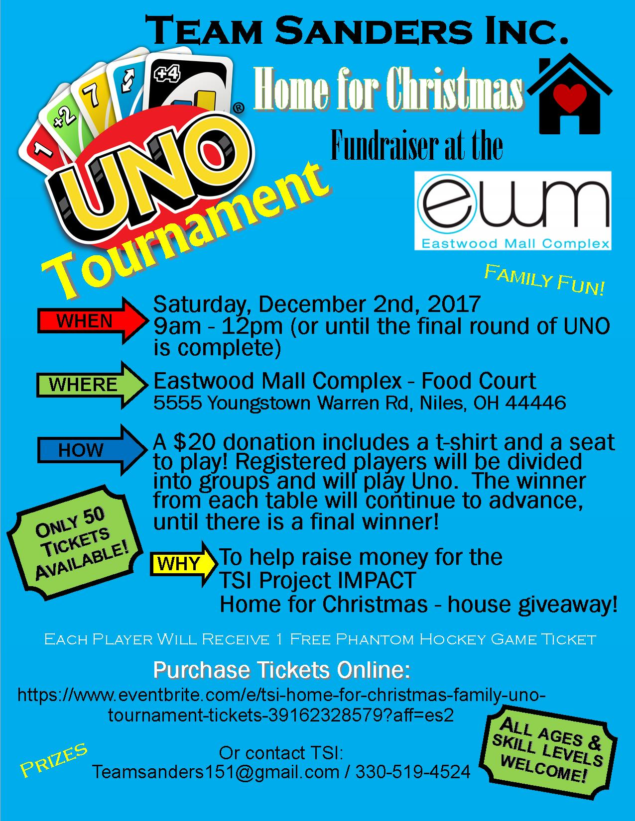 Home for Christmas Uno Tournament