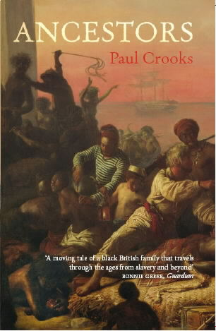 Slavery on the Slave Coast provides the cover to Ancestors by Paul Crooks