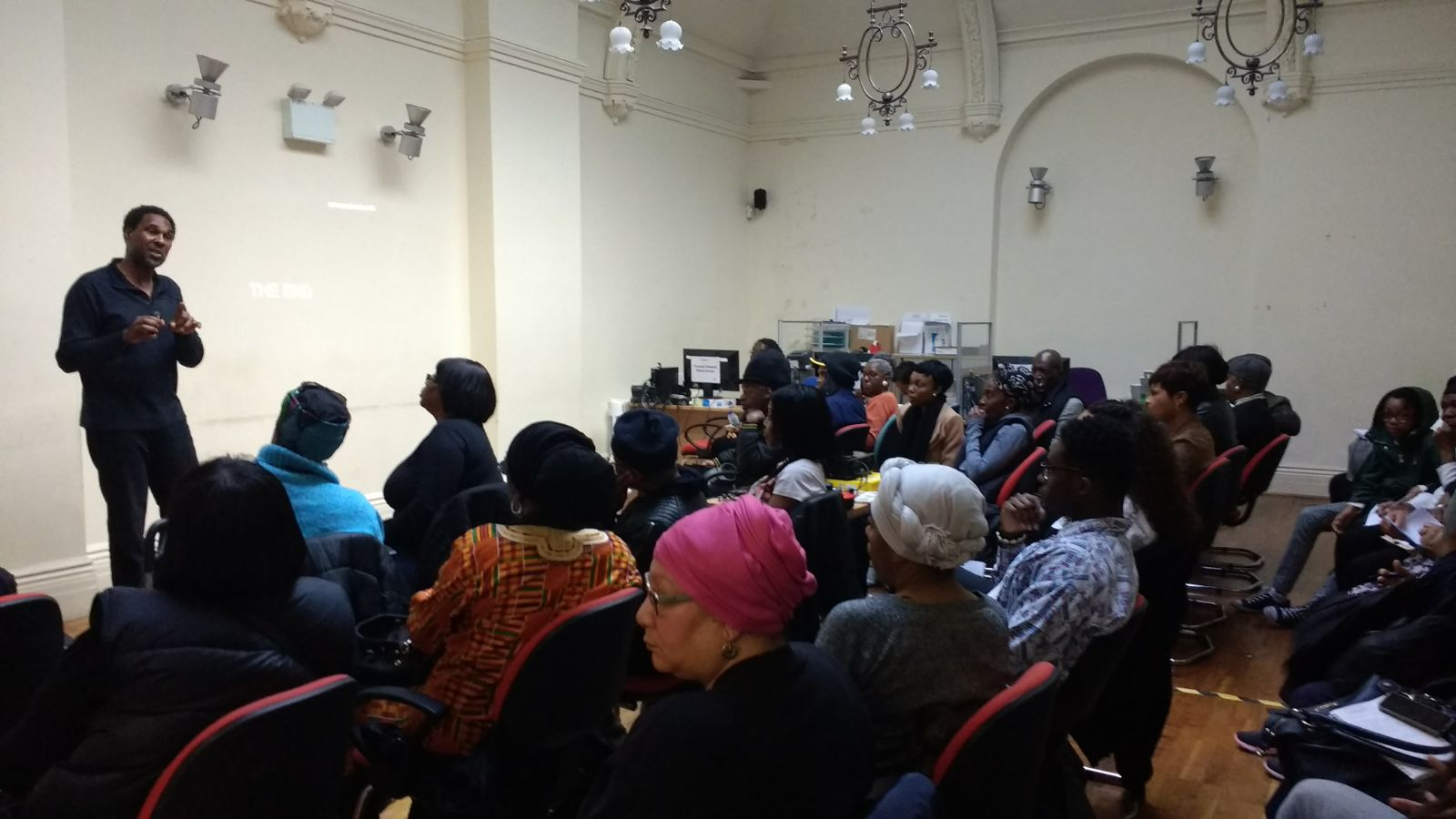 Walthamstow 1817 Slave Resister Meeting