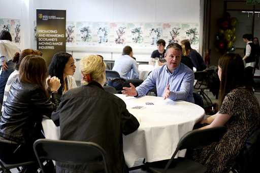 Round table networking surgery at Youth Hub 2015