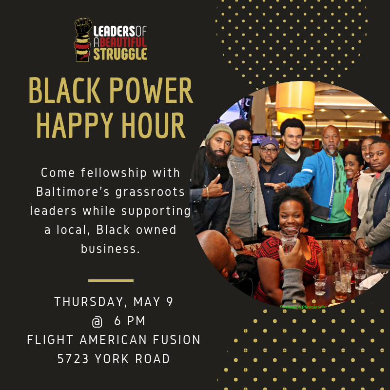 79f7a38b8364 May Black Power Happy Hour Tickets