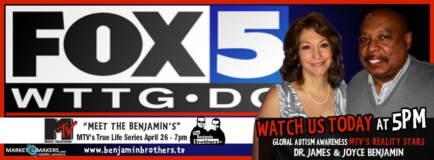 FOX NEWS 5 - Autism interview - James Joyce Benjamin