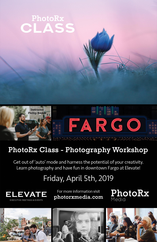 PhotoRx Class Fargo April 2019