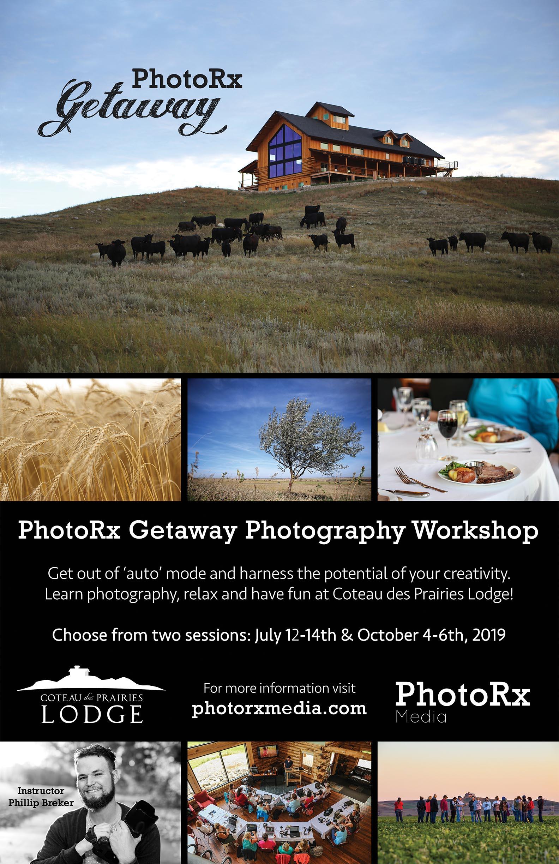 PhotoRx Getaway Photography Workshop 2019