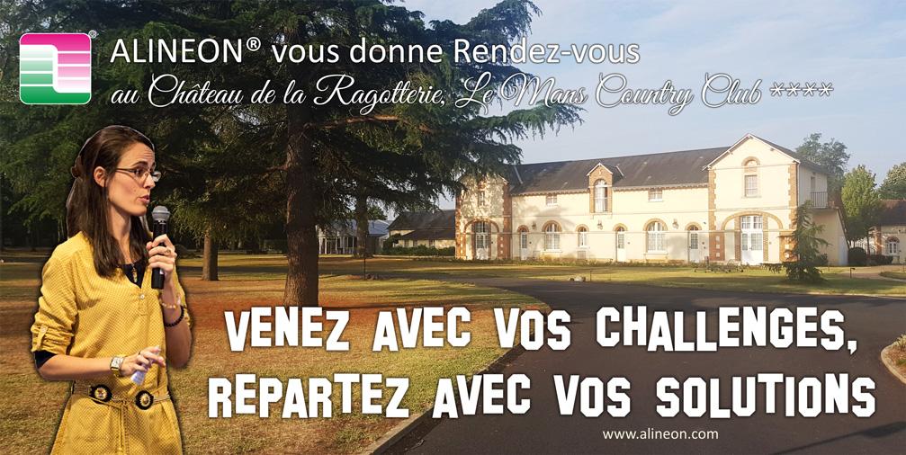 ALINEON® vous invite au Château de la Ragotterie, Le Mans Country Club