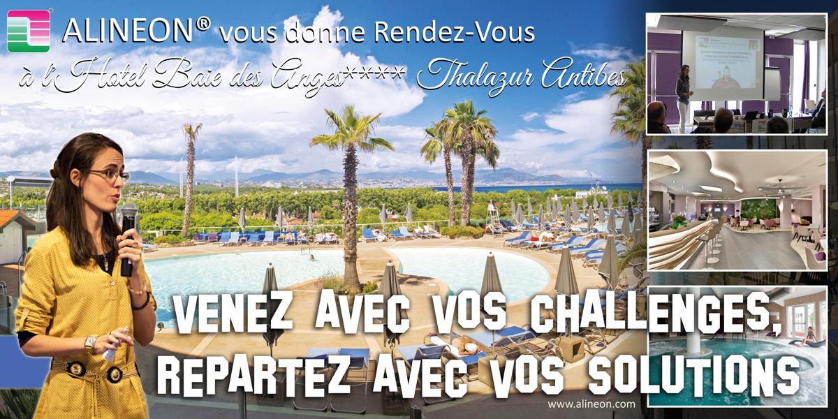 ALINEON® vous invite à l'Hôtel Baie des Anges ****Thalazur Antibes