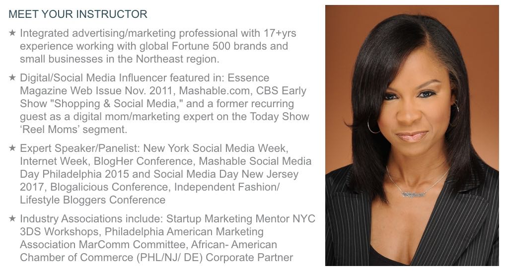 Meet Your Instructor Nichelle N. Pace
