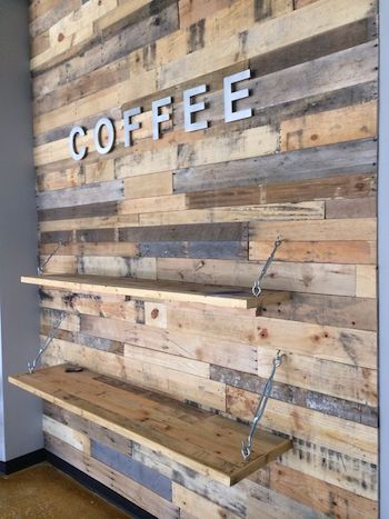 Reclaimed Wood Accent Wall 2