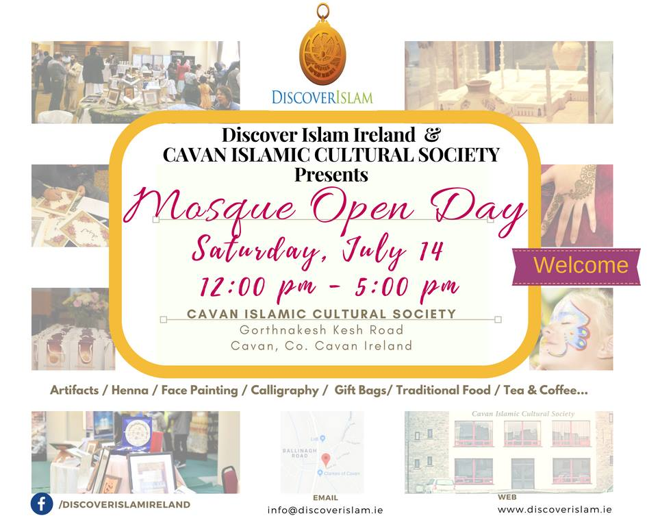 CAVAN MOSQUE OPEN DAY 2018 Flyer