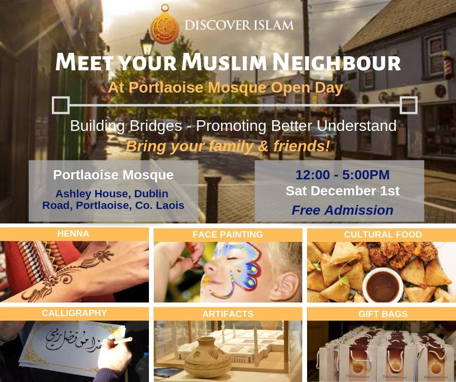 Portlaoise Mosque Open Day 2018