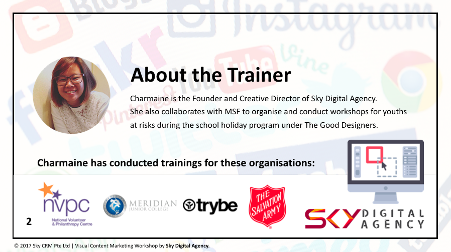 About the trainer - Sky Digital Agency