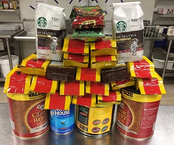 25 Packages of coffee to celebrate 25 years!