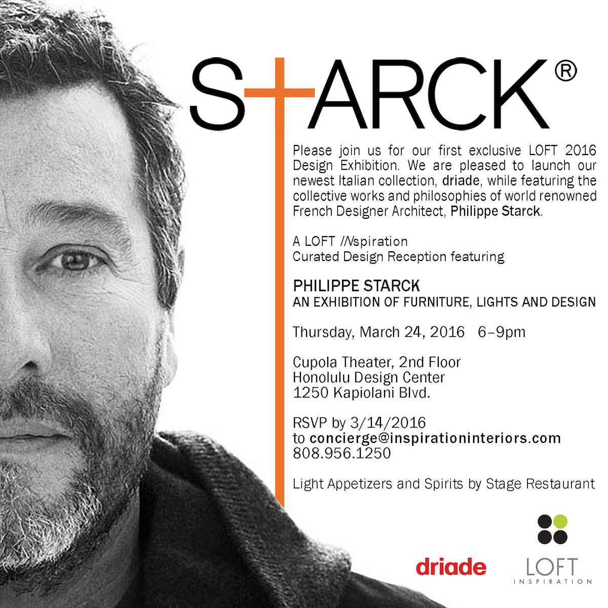 Philippe Starck Exhibition Tickets Thu Mar 24 2016 At 6
