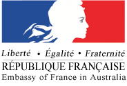 French Embassy in Australia logo