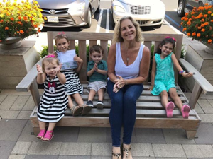 Denise and grandchildren