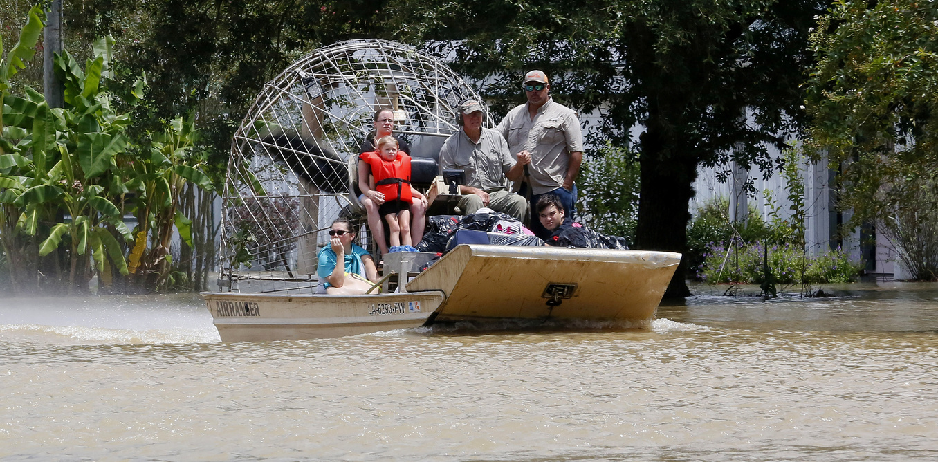 Cajun Navy Airboat Rescue