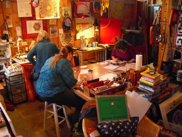 Blue Star Gallery Mandala Workshop