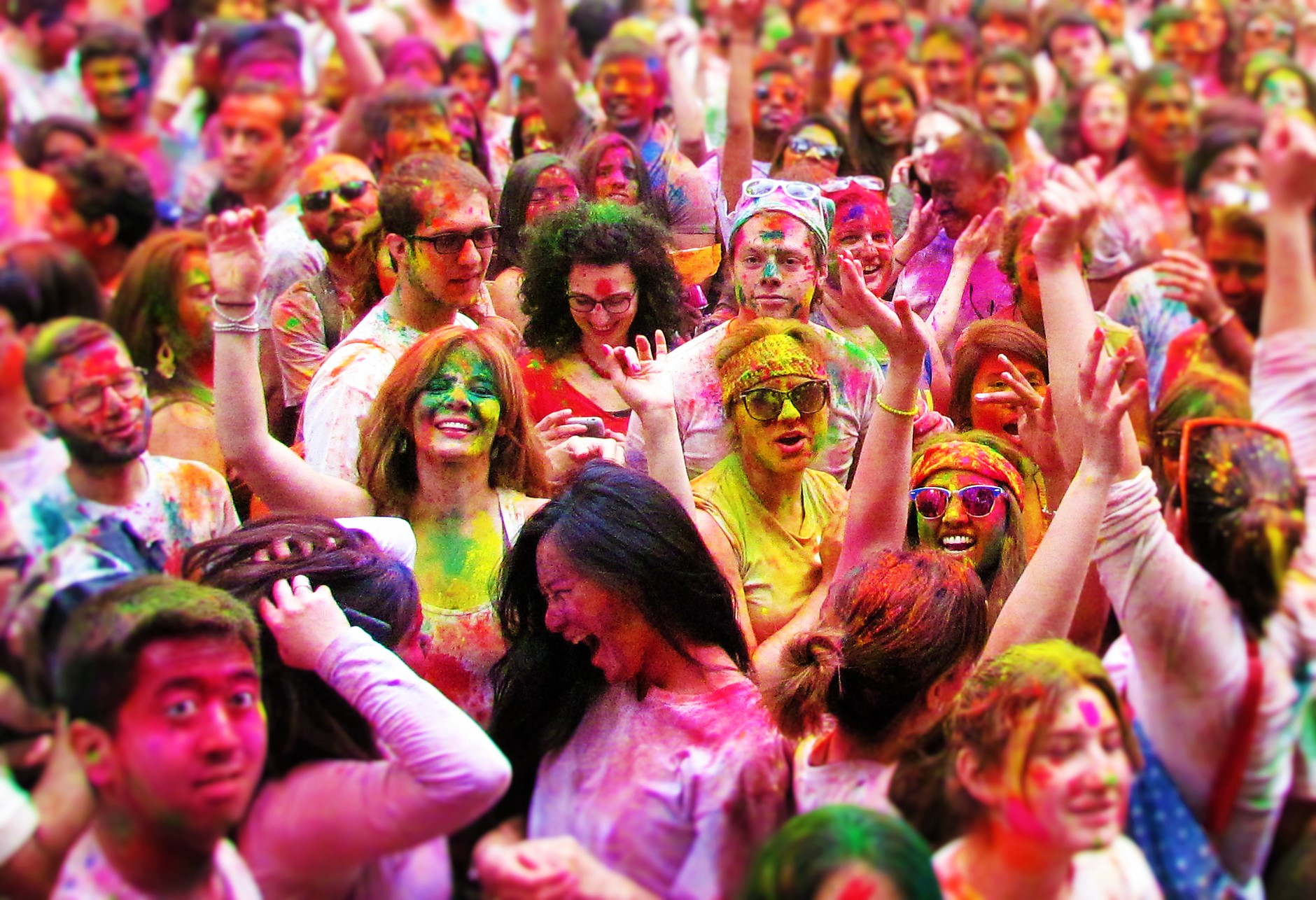 Holi hai 2017 spring color festival by nyc bhangra for New york culture facts