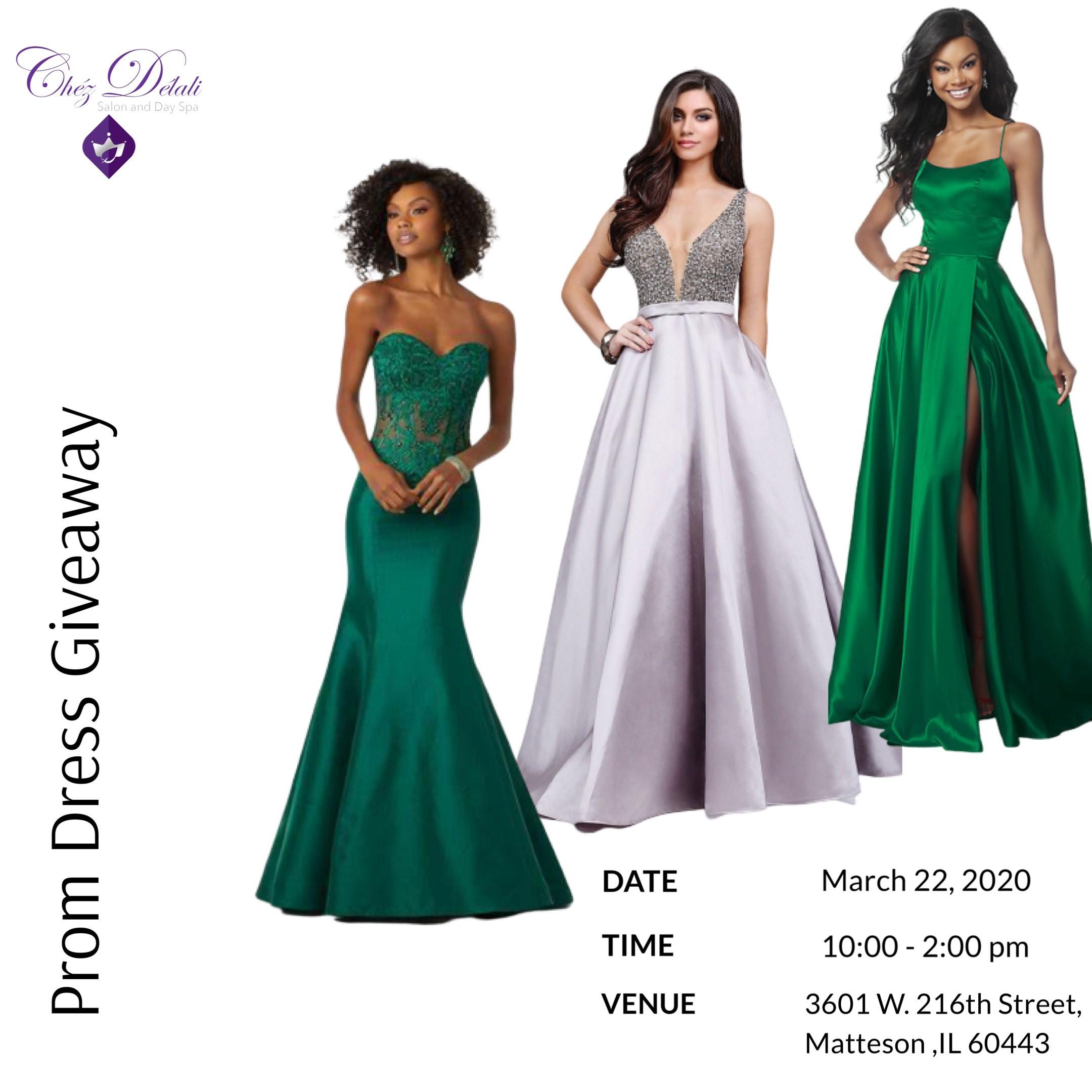 Chéz Délali Salon Prom Dress Giveaway Tickets, Sun, Mar 22