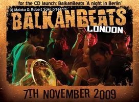 BalkanBeats London - CD Launch Night - 7th November 2009