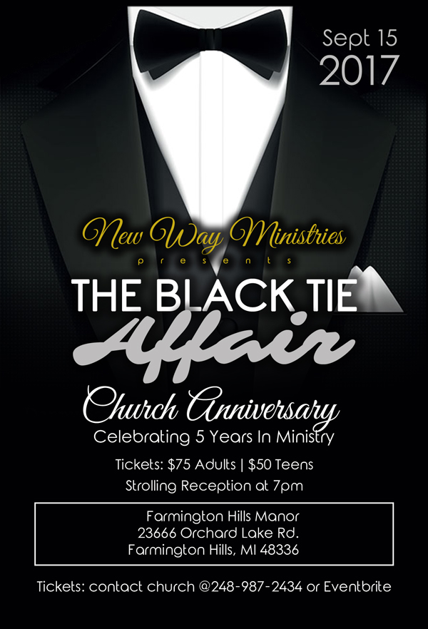 New Way Ministries Flyer