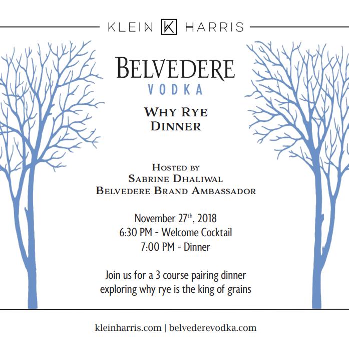 Belvedere Dinner