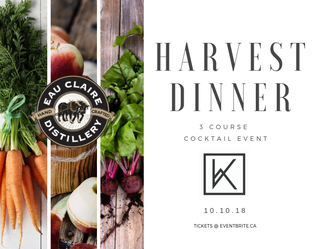 Eau Claire Distillery Harvest Dinner