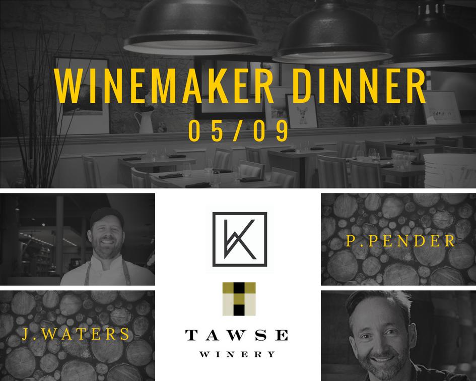 Tawse Winemaker Dinner