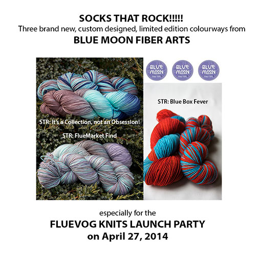 three custom yarn colours from BMFA