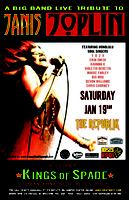 JANIS JOPLIN LIVE TRIBUTE with KINGS OF SPADE SAT JAN 19 @...