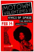 MOTOWN VALENTINES II / KINGS OF SPADE / THE BENTOS /...