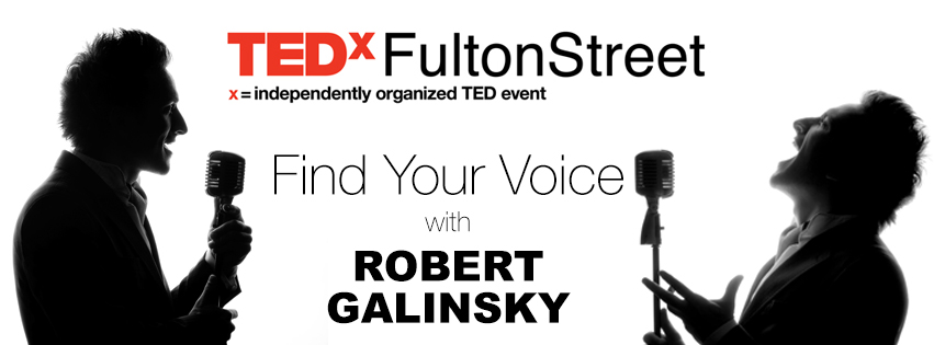 Speaker Coaching with Robert Galinsky, for TEDxFultonStreet 2014 Presenters (not open to the public)