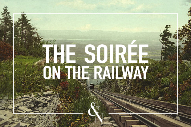 The Soirée on the Railway