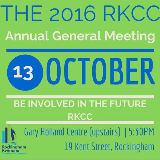 2016 RKCC AGM