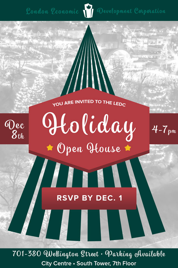 LEDC Holiday Open House 2016 Invite