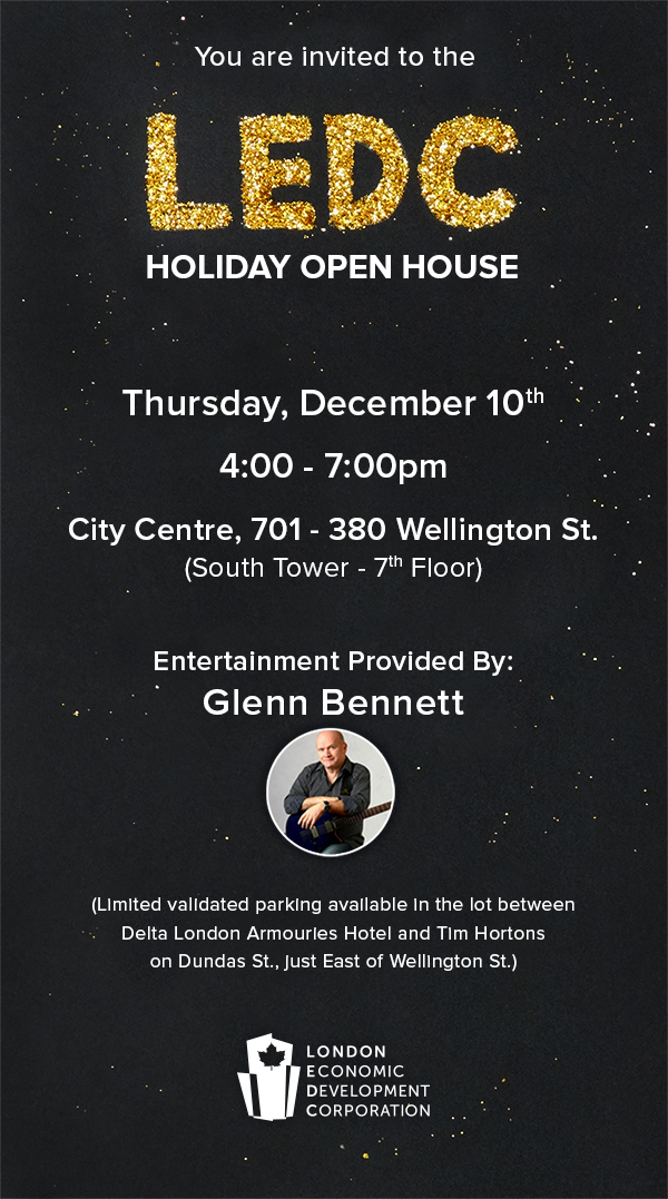 LEDC Holiday Open House details and invitation