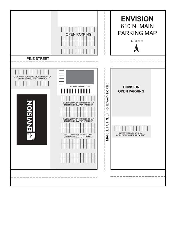 Envision Parking Map