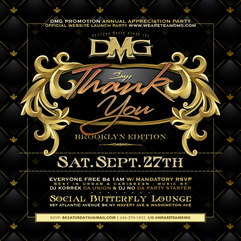 DMG Says Thank You