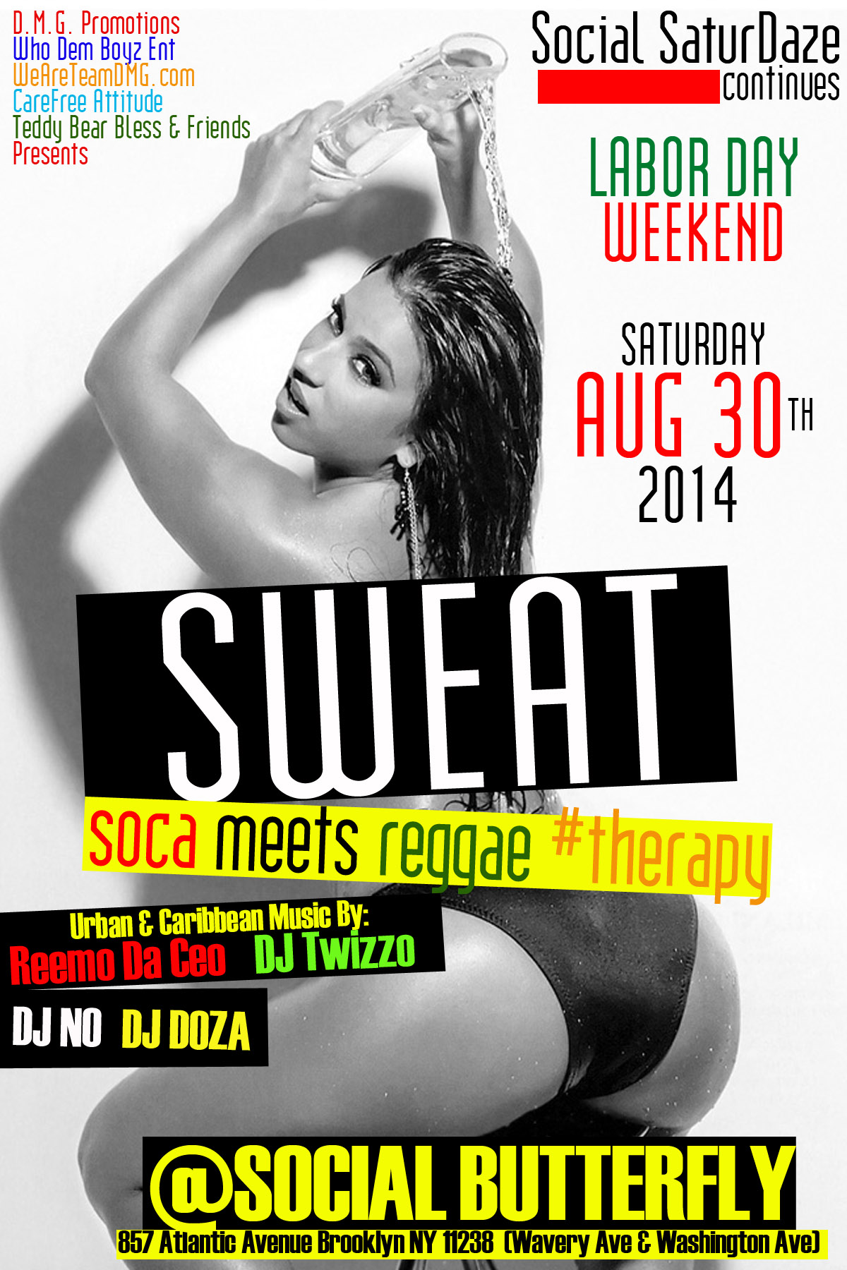 Sweat: Soca Meets Reggae