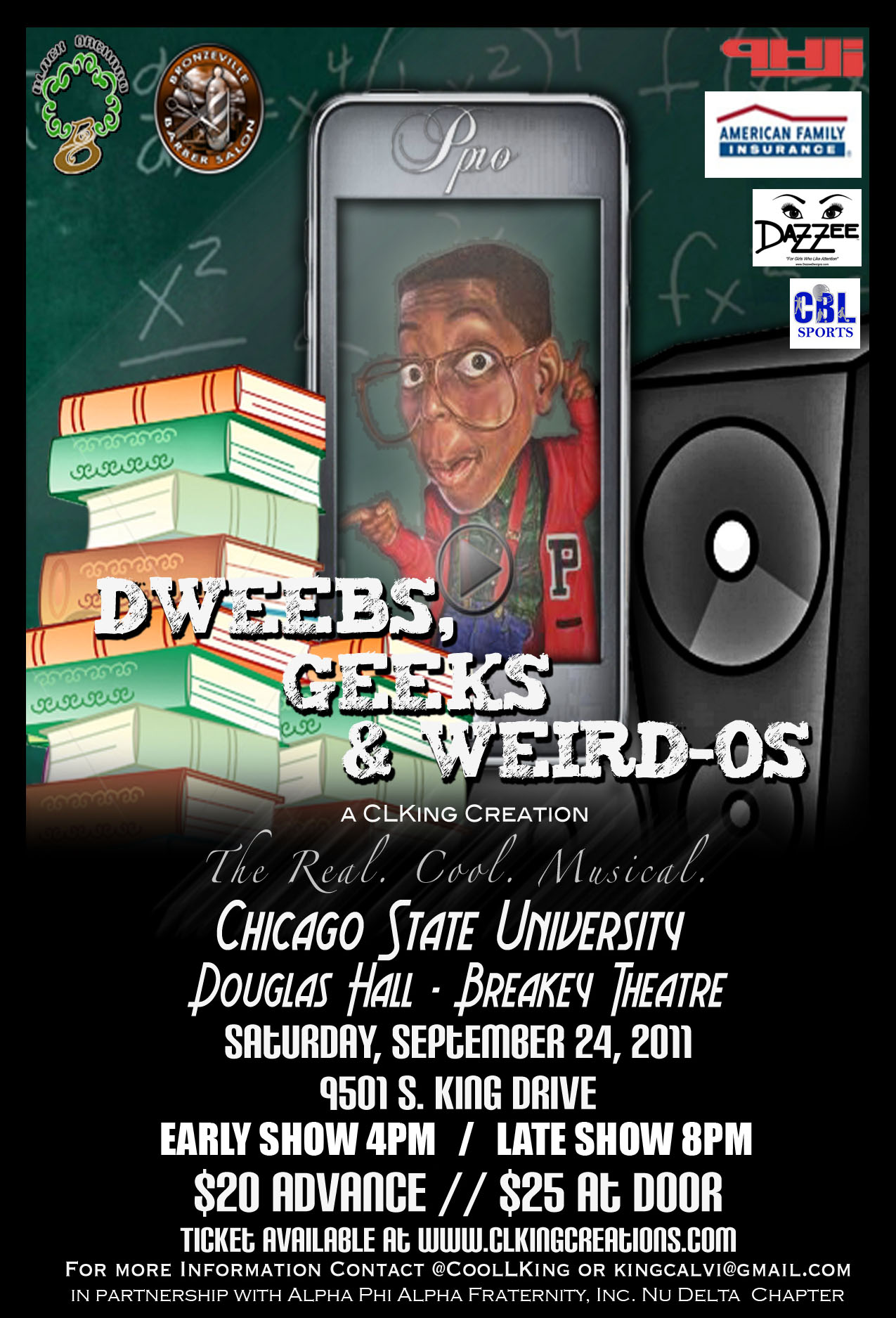 Dweebs, Geeks & Weird-Os (The Real. Cool. Musical.) ENCORE