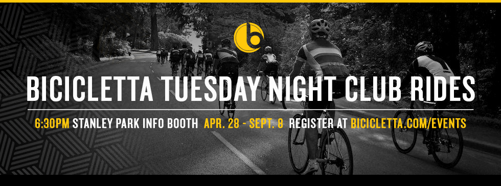 Bicicletta Tuesday Night Club Rides