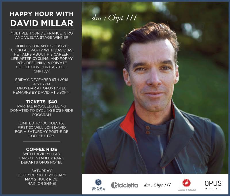 Happy Hour with David Millar