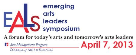 Emerging Arts Leaders Symposium 2013 at American University