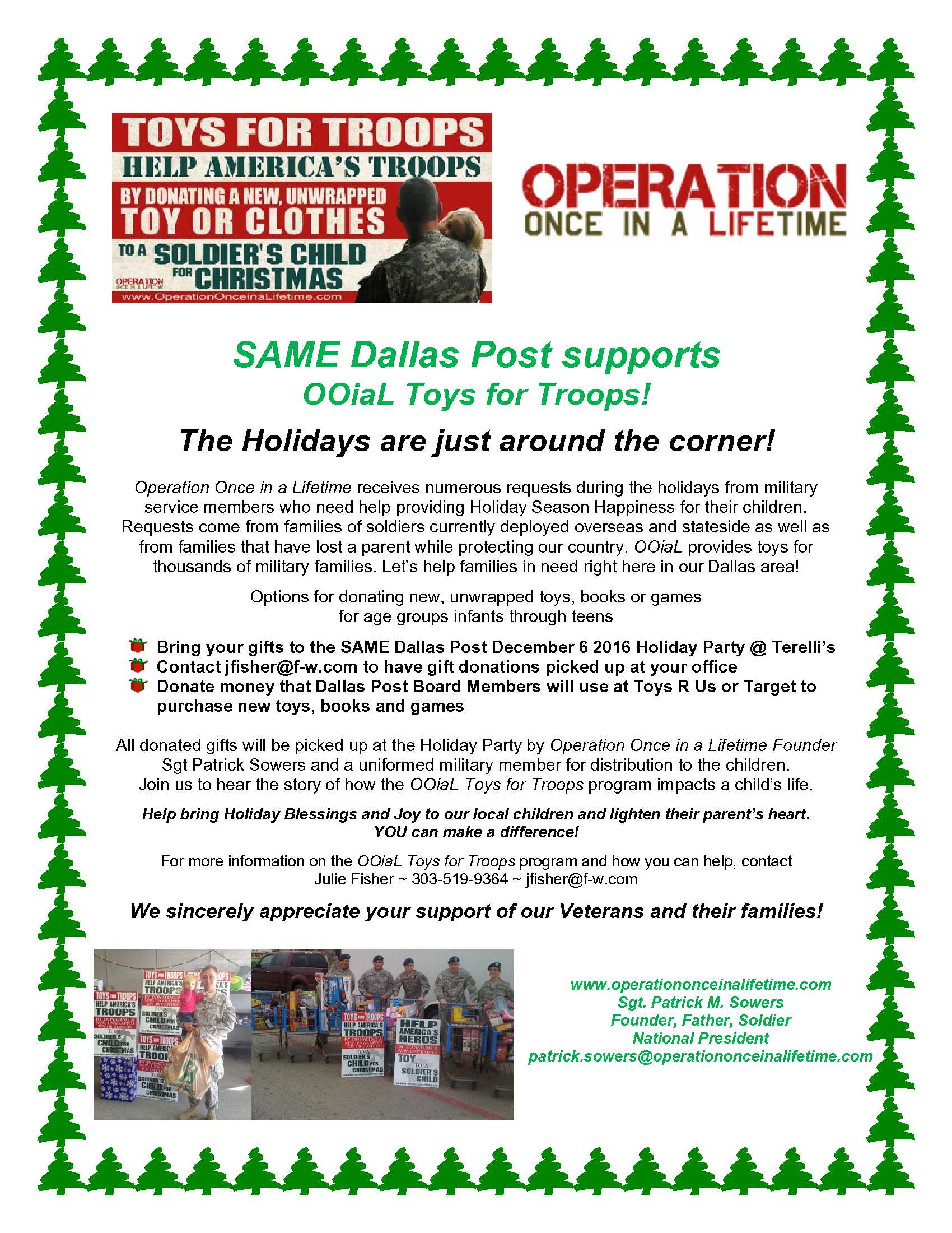 2016Toys for Troops