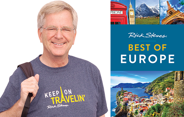 Rick Steves and book