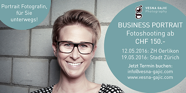 Business Portrait Flyer