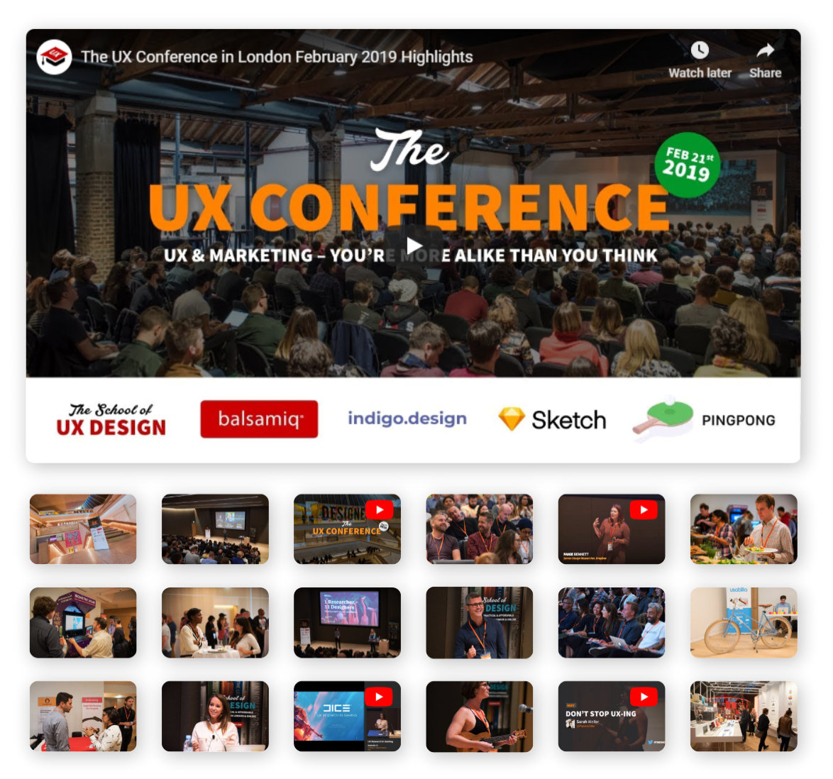 The UX Conference photos and videos
