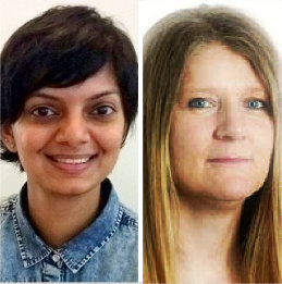 The UX Conference Sep 2018 speakers Mansha Manohar & Jennefer Hart