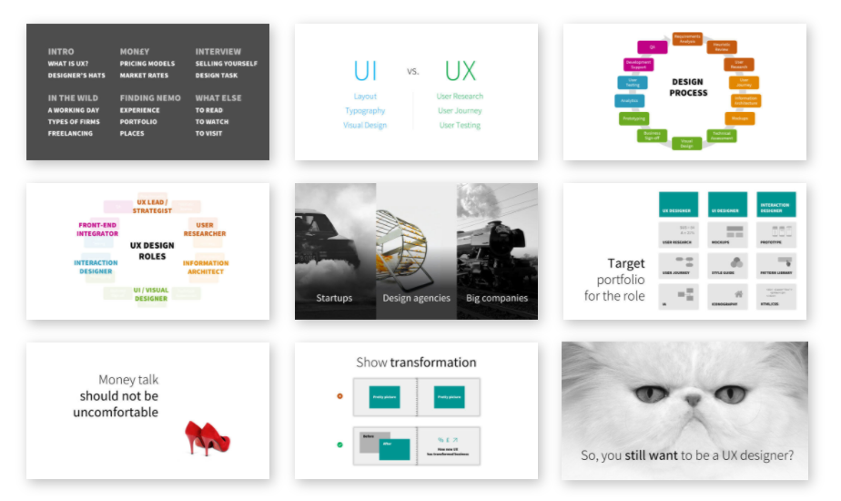 The School of UX: How to Start a Career in UX course