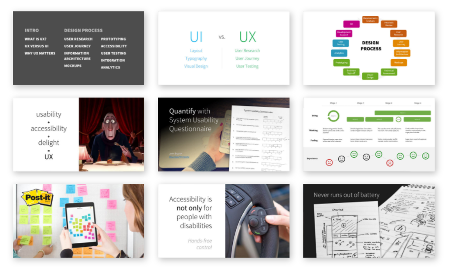 The School of UX crash course